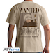 One Piece - Wanted Trafalgar Law Men's Small T-Shirt - Beige - Image 2