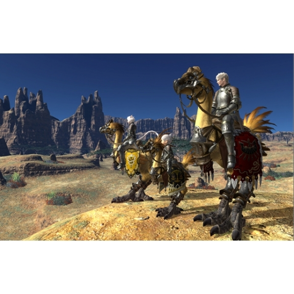 Final Fantasy XIV 14 A Realm Reborn (Online) Game PS3 - Image 2