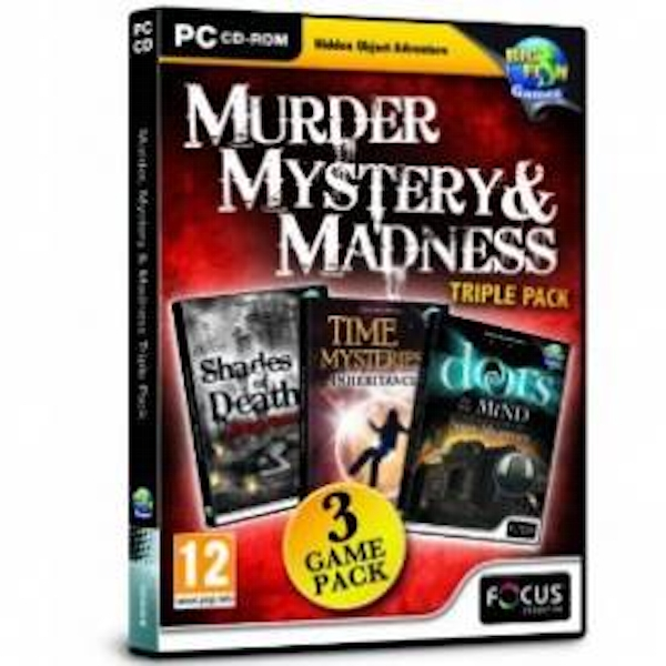 Murder Mystery and Madness Triple Pack Game PC