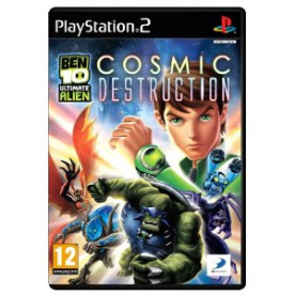 Ben 10 Ultimate Alien Cosmic Destruction Game PS2