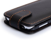 YouSave Accessories Samsung Galaxy S4 Leather-Effect Flip Case (Trade) - Black