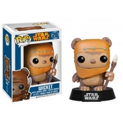 Ewok Wicket (Star Wars) Funko Pop! Vinyl Bobble-Head Figure