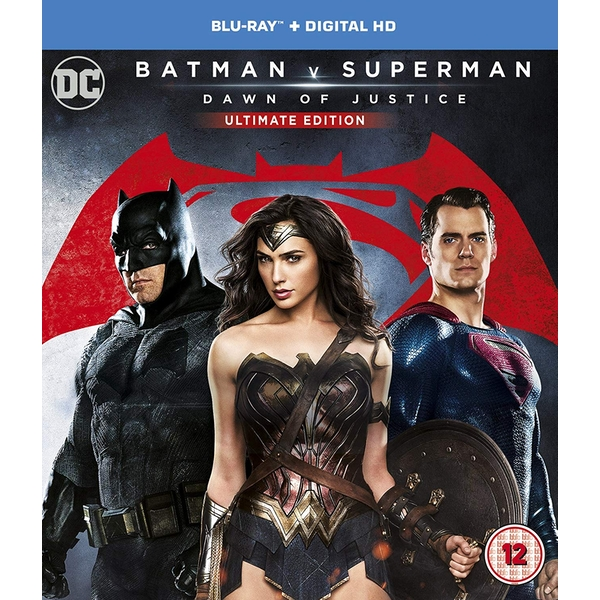 Batman V Superman: Dawn Of Justice Ultimate Edition Blu-ray