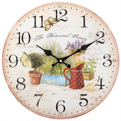 Shabby Chic The Botanical Society Wall Clock