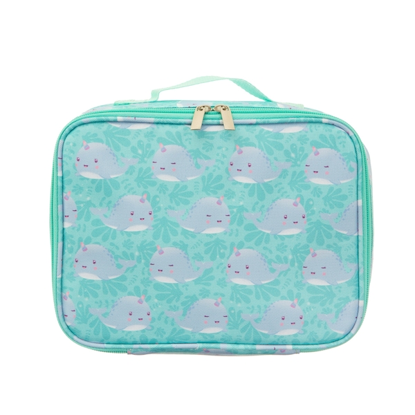 Sass & Belle Alma Narwhal Lunch Bag