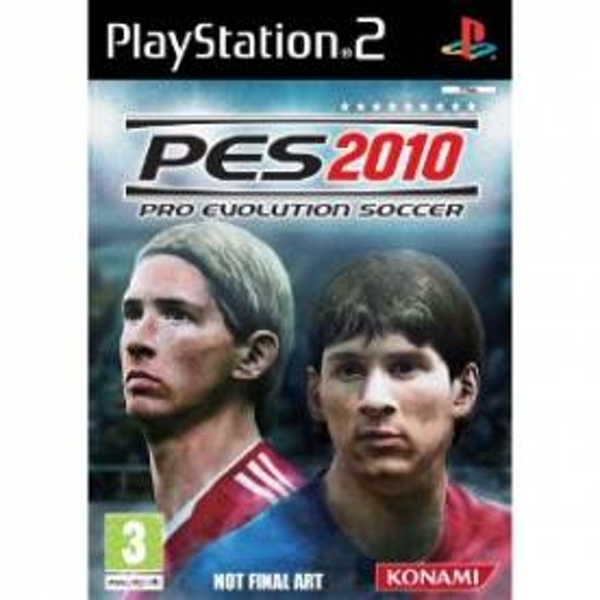 Pro Evolution Soccer 2010 Game PS2