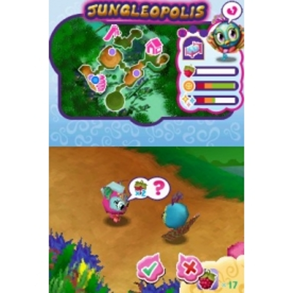 zoobles ds game unlock codes