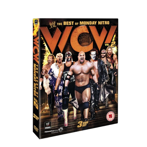WWE - The Best Of WCW Monday Night Nitro - Vol.2 DVD 3-Disc Set