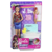 Barbie Babysitters Bath Fun Playset