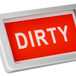 Dishwasher Clean / Dirty Sign | M&W Silver - Image 2
