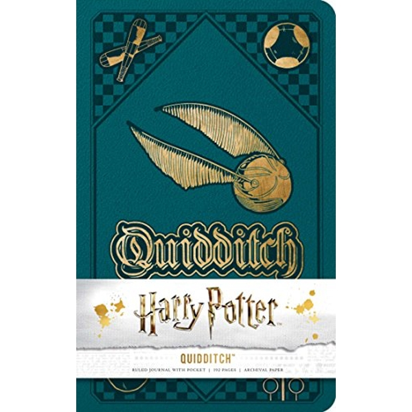 Harry Potter: Quidditch Hardcover Ruled Journal  Notebook / blank book 2018