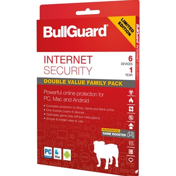 Bullguard Limited Edition Internet Security 1Year/6 Device Multi Device Retail License English - Image 2