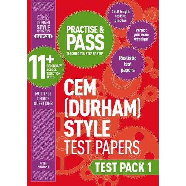Practise and Pass 11+ CEM Test Papers - Test Pack 1 by Peter Williams (Paperback, 2016)