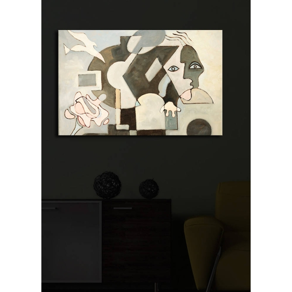 4570?ACT-24 Multicolor Decorative Led Lighted Canvas Painting