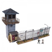 Mcfarlane The Walking Dead Constructions Prison Tower and Gate