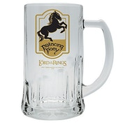 Lord of The Rings Prancing Pony Beer Glass