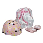 Funbee - Girls XS Outdoor Activities Protection Set with Bag (Pink)