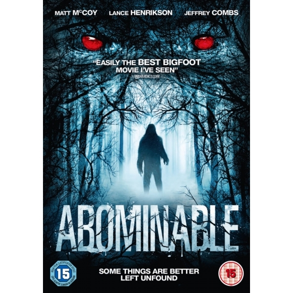 Abominable DVD
