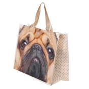 Pug Durable Reusable Shopping Bag