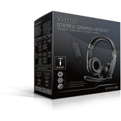 Gioteck XH100 Wired Stereo Gaming Headset Piano Black (PS4/Xbox One/PC/WII U)