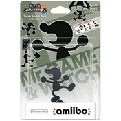 Mr Game & Watch Amiibo (Super Smash Bros) for Nintendo Wii U & 3DS