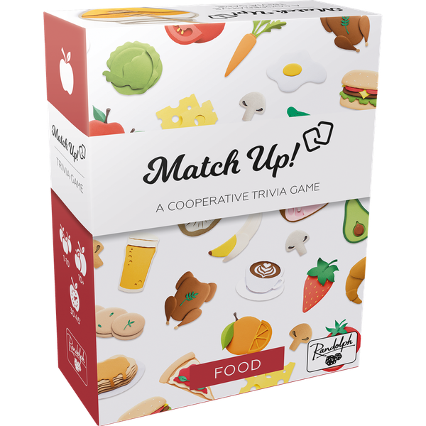 Match Up! Food Card Game