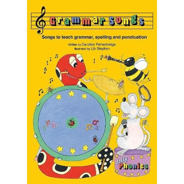 Grammar Songs In Precursive Letters (British English edition) Mixed media product 2014