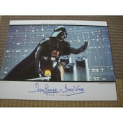 Star Wars In Person Signed 14X11 Dave Prowse As Darth Vader