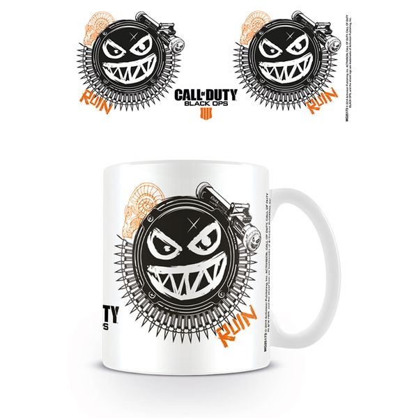 Call of Duty: Black Ops 4 - Ruin Smile Icon Mug - Image 1
