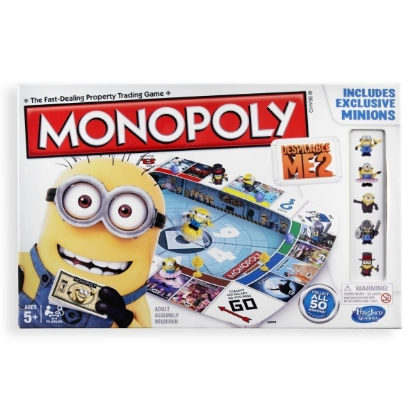 Ex-Display Despicable Me 2 Monopoly Board Game Used - Like New
