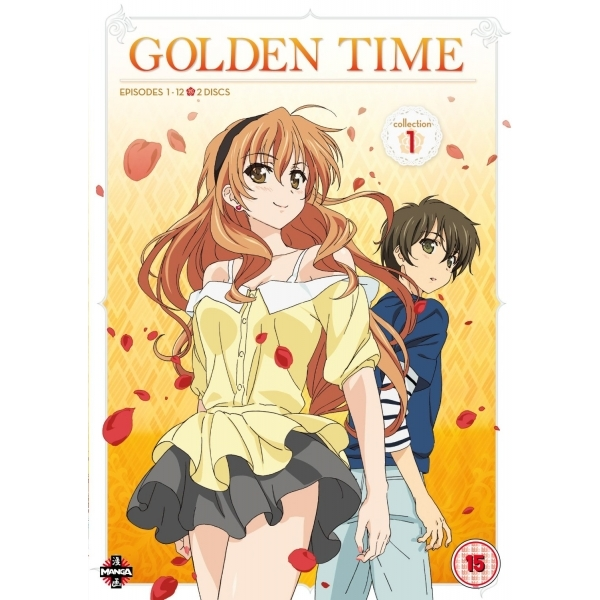 Golden Time Collection 1 Episodes 1-12 DVD