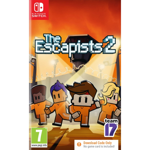 The Escapists 2 Nintendo Switch Game [Code in a Box]
