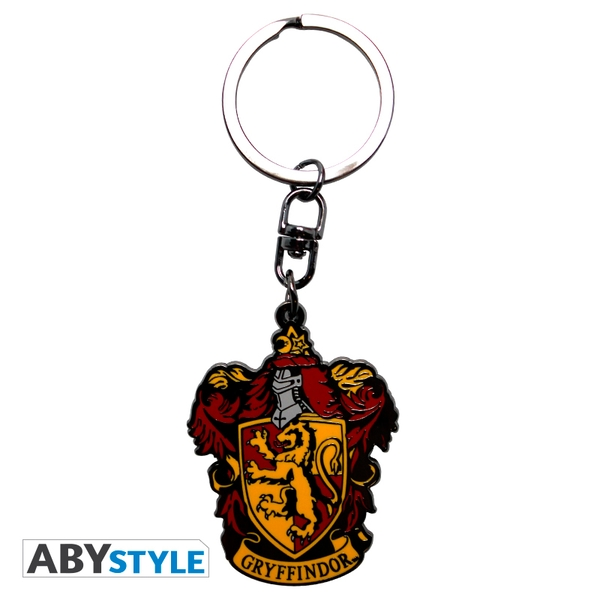 Harry Potter - Gryffindor Metal Keyring