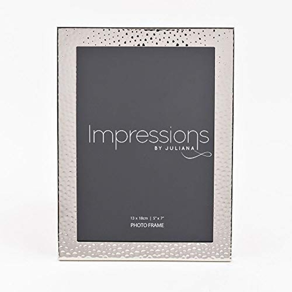 """Impressions Nickel Plated Photo Frame 5"""" x 7"""""""