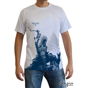 Assassin's Creed - Connor Kneel Down Men's X-Large T-Shirt - White