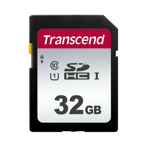Transcend 300S memory card 32 GB SDHC Class 10 UHS-I