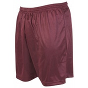 Precision Micro-stripe Football Shorts 34-36 inch Maroon