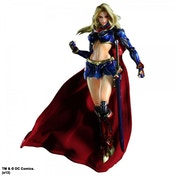 DC Comics Supergirl  Play Arts Kai Variant Action Figure