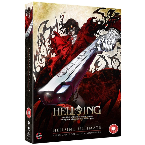 Hellsing Ultimate - Complete Collection (Volume 1-10) DVD