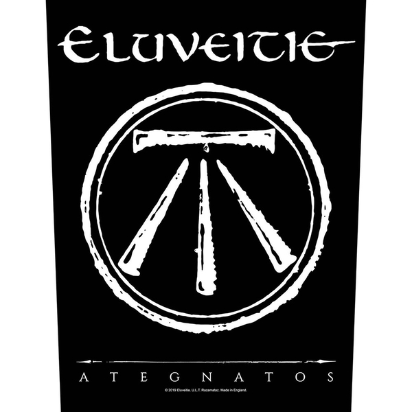 Eluveitie - Ategnatos Back Patch