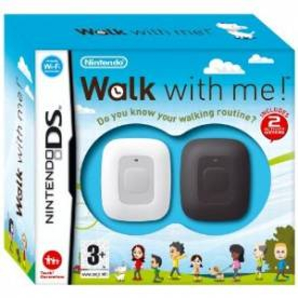 Walk With Me! Includes Two Activity Meters Game DS