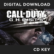Call Of Duty Ghosts + Free Fall DLC PC CD Key Download for Steam