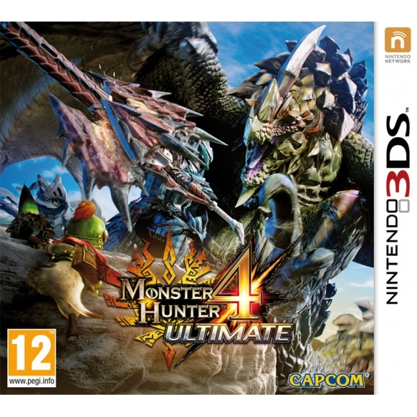 Monster Hunter 4 Ultimate 3DS Game - Image 1