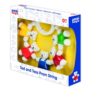 Galt Toys - Ambi Ted and Tess Pram String