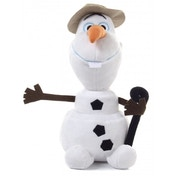 Olaf with Hat and Walking Stick