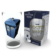 Doctor Who Tardis Large Glass