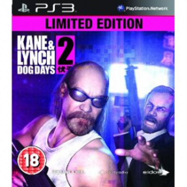 Kane & Lynch 2 Dog Days Limited Edition Game PS3