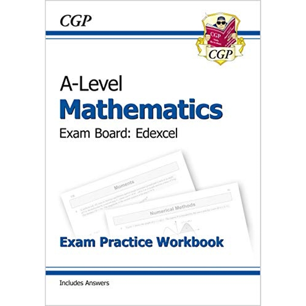 New A-Level Maths for Edexcel: Year 1 & 2 Exam Practice Workbook by CGP Books (Paperback, 2017)