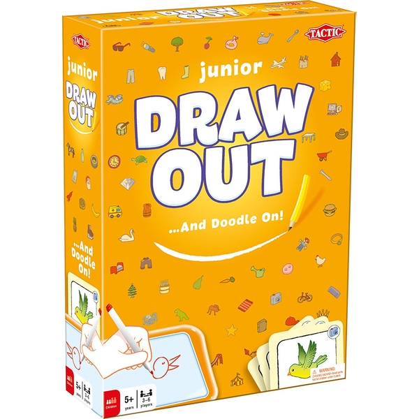 Draw Out Junior Board Game - Image 1