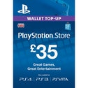 35 Playstation Network Card PSN UK PS3 & PS Vita & PS4